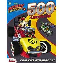 500 Adesivos Disney. Mickey Aventuras Sobre Rodas