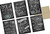 Chalkboard Have Faith - 36 Note Cards