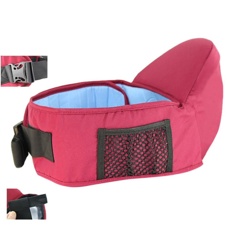 QinMM portabeb/és hipseat cintur/ón Cintura Asimiento Asiento para ni/ños beb/é y ni/ña