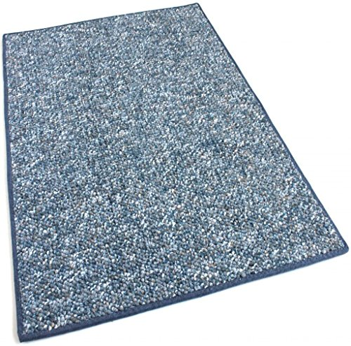 10'x12' - Baltic Blue - Indoor/Outdoor Area Rug Carpet, Runners & Stair Treads with a Premium Nylon Fabric FINISHED EDGES.