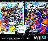 Wii U Super Smash Bros and Splatoon Bundle Special Edition Deluxe Set (Certified Refurbished)