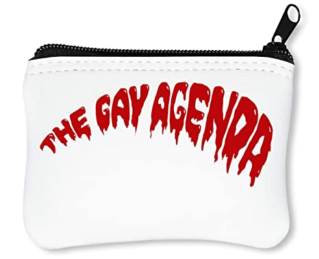 The Gay Agenda Billetera con Cremallera Monedero Caratera ...