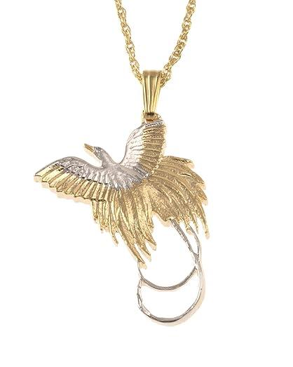 Bird of paradise pendant necklace new zealand coin hand cut bird of paradise pendant necklace new zealand coin hand cut aloadofball Images