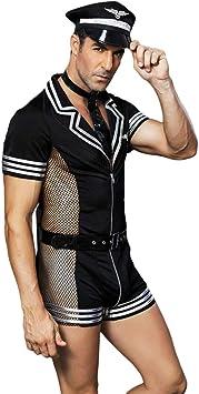Heallily Disfraz sexual para hombres cosplay erótico trajes de ...