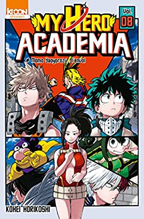 My Hero Academia T08 (SHONEN MY HERO) eBook: Kohei