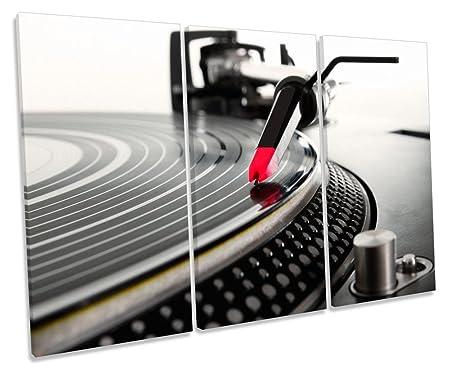 DJ: Tocadiscos para Tablas de Girar, diseño de Lienzo, 60cm Wide x ...