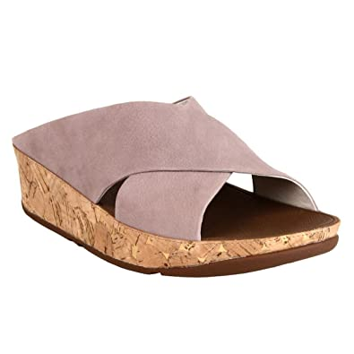 ab3cb1d7f FitFlop Womens KYS Sandals Plumthistle UK9 Plumthistle  Amazon.co.uk ...
