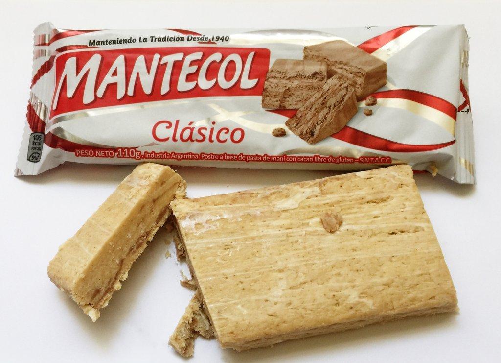 Amazon.com : MANTECOL Clasico - Peanut Butter Dessert. Gluten Free. 110 gr. : Grocery & Gourmet Food