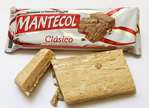 MANTECOL Clasico - Peanut Butter Dessert. Gluten Free. 110 gr.