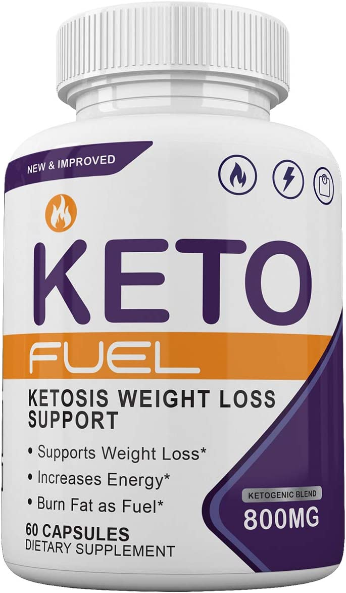 Keto Fuel – Ketosis Weight Loss Support – 60 Capsules – 1 Month Supply