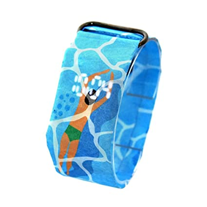 Leegoal Paper Watch Waterproof, Fashion LED Paper Watch Creative Paper Watch Tyvek Paper Strap Digital