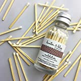 Banter & Bliss Match Bottle with Striker · 60 White Safety Matches