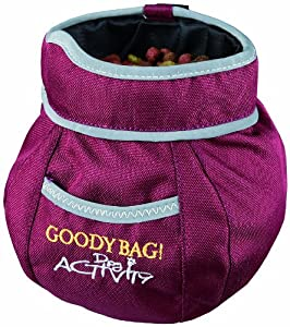 Trixie 32281 Dog Activity Snack-Tasche Goody Bag, 11 x 16 cm, Farbe nicht...