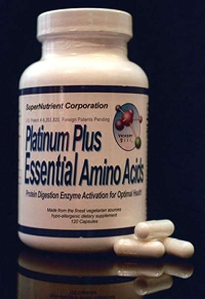 Platino Más Aminoácidos Esenciales de SuperNutriente ...