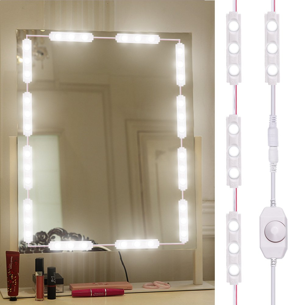 Sararoom LED Vanity Mirror Lights Kit, Makeup Mirror Light for DIY Cosmetic