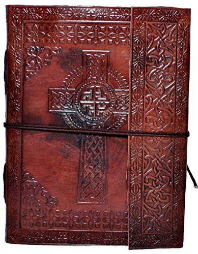second-may-genuine-leather-handmade-diary-embossed-with-traditional-cris-cross-motif-natural-leather