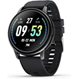 Donerton Smart Watch, IP68 Waterproof Fitness Tracker for Android and iOS Phones, Sport Watch with Heart Rate Monitor and Sle