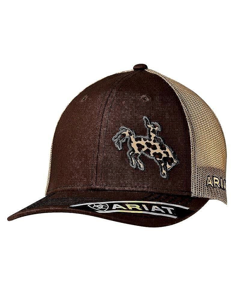 c303d55f29c78 ARIAT Women s Leopard Bronc Rider Cap