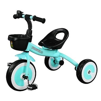 Triciclos Niños 2-3-5 Años Carro de bebé para Niños Trike Ligero Juguete