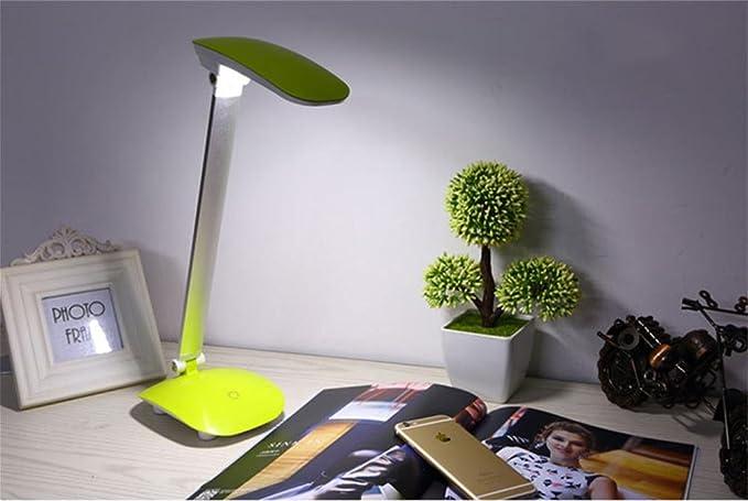 Xh yh lampada da tavolo ricaricabile per lettura a led lampada da