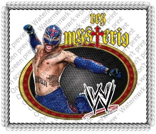 1/4 Sheet ~ Rey Mysterio WWE Wrestling ~ Edible Image Cake/Cupcake Topper!!! (Rey Mysterio Wwe)