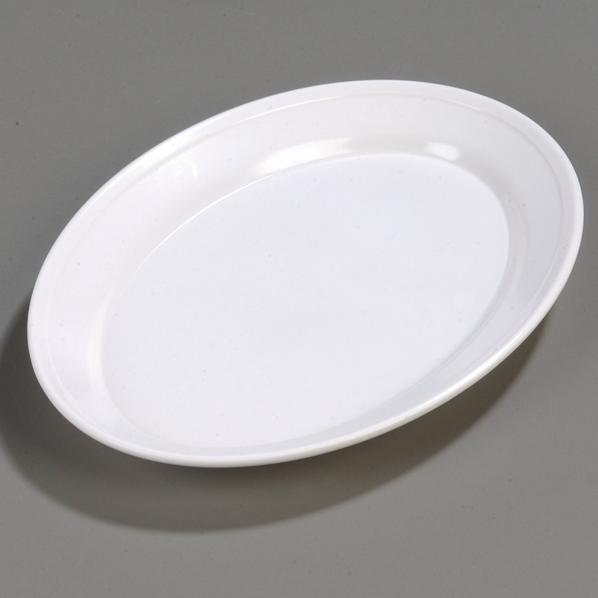 Amazon Com Carlisle Arr12002 Melamine Oval Platter 12 X 8 5 X 1 07 White Case Of 12 Industrial Scientific
