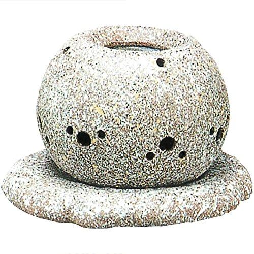 茶香炉 常滑焼 山房窯 電気式茶香炉(陶板付 電気100v40w使用) エ38-15 B00P7FHY2A
