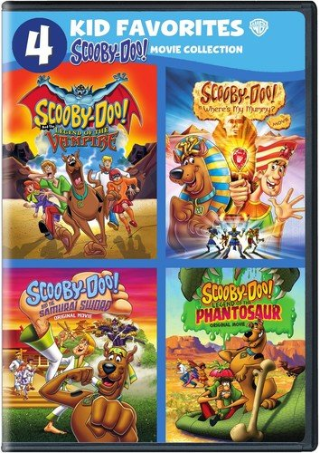 4 Kid Favorites: Scooby-Doo! (DVD) (Scooby Doo And The Legend Of The Vampire)