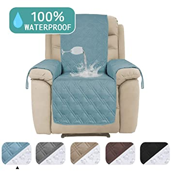 Incredible Turquoize Waterproof Couch Cover For Recliner Chair Cover For Leather Furniture Protector Cover Non Slip Backing Furniture Cover Protect From Pets 91 Customarchery Wood Chair Design Ideas Customarcherynet