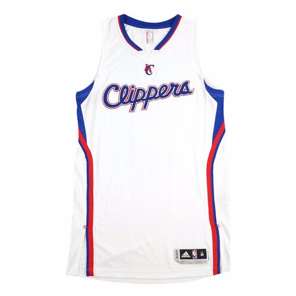 adidas ロサンゼルスクリッパーズ NBA ホワイト NBA オーセンティック On-Court Team Issued Pro Cut ジャージ メンズ MT  B07753LLT4