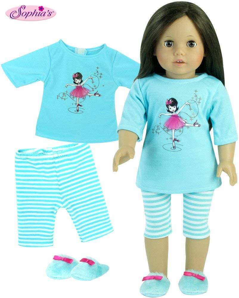 Purple Dress Canvas For American Girl Doll 18 in Clothes Accessories