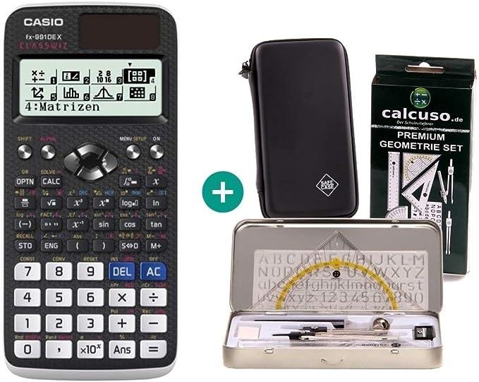 Casio Calculadora FX 991DE X + Funda Protectora de SafeCase + Kit ...