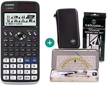Casio Calculadora FX 991DE X + Funda Protectora de SafeCase + Kit ...