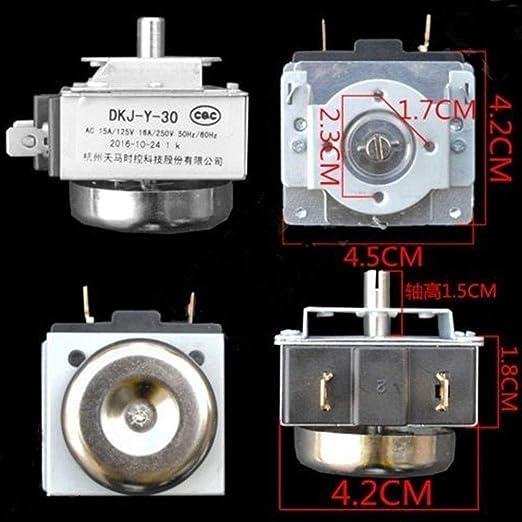 DKJ-Y 60 minutos interruptor de temporizador de reTardo para horno electrónico