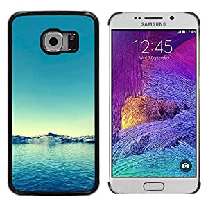 iKiki Tech / Estuche rígido - Nature Blue Water - Samsung Galaxy S6 EDGE SM-G925