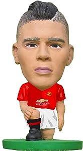 SoccerStarz SOC889 2017 Version Man Utd Marcos Rojo Home Kit