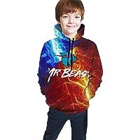 David A Beltran Mr Beast Kid'S Hooded Sweater 3d Print Sweatshirts Jeugd Hoodies Trui Unisex Hooded Sweatshirt