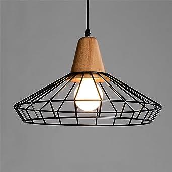 Loft Landlichen Pendelleuchte Esssaal Lampe Vintage Hangelampe Holz