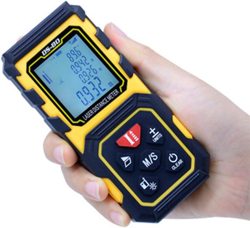 TeléMetro LáSer 40-100m, Medidor LáSer Con Sensor De áNgulo ElectróNico, Niveles Profesional Metro Laser