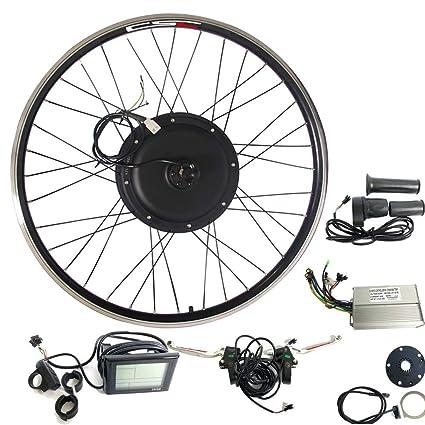Amazon com : CSC Electric Bike Conversion Kit with Hub, Rear