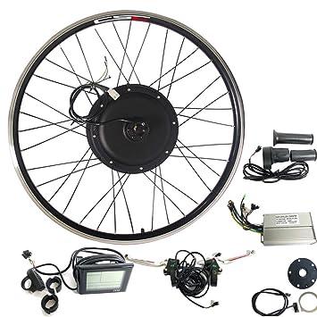 CSC Kit de conversión de bicicleta eléctrica con buje, rueda trasera ...