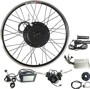 CSC Kit de conversión de bicicleta eléctrica con buje, rueda ...