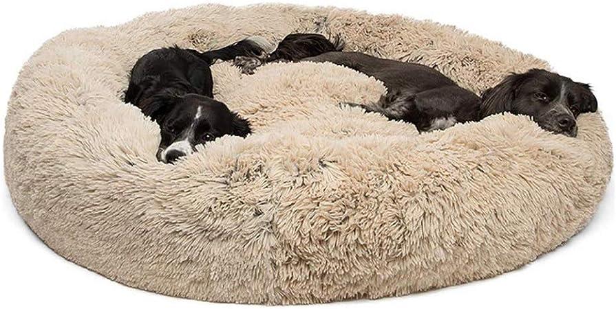 Cuccia per Cani Gatti Cuccia Tonda Morbida per Animali Domestici Portatili per Cani e Gatti Cuccia Rotonda Calda e Morbida Comoda per Dormire in