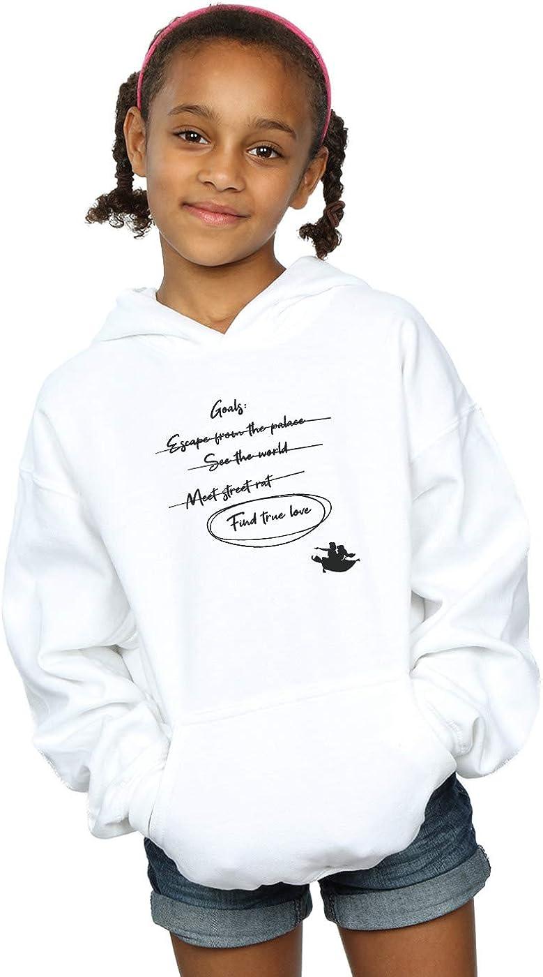 Disney Girls Aladdin Jasmine Goals Hoodie