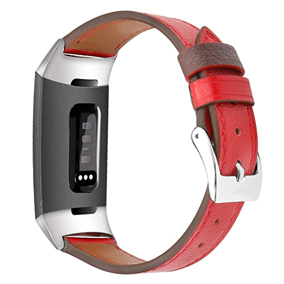 Bonstrap Band for Fitbit Charge 3 Replacement Fitbit Charge 3 Watch Strap  for Men Women Colors&Size L/S