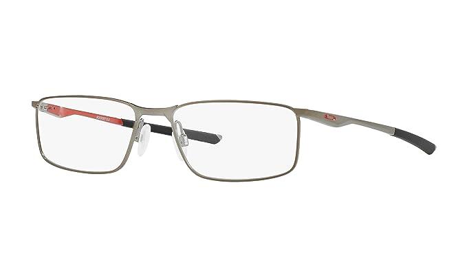 4e9c785318f Amazon.com  Oakley - Socket 5.0 (53) - Satin Brushed Chrome Frame ...