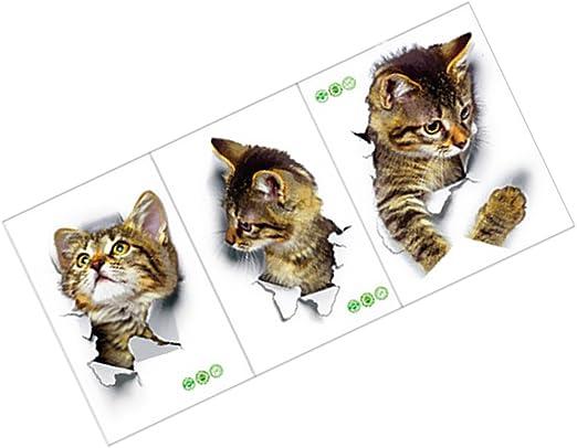 Dekoration 3d Katze Hund Wandtattoo Wandsticker Aufkleber Sticker Badezimmer Toilette On Mobel Wohnen Sodobna Kozmetika Si