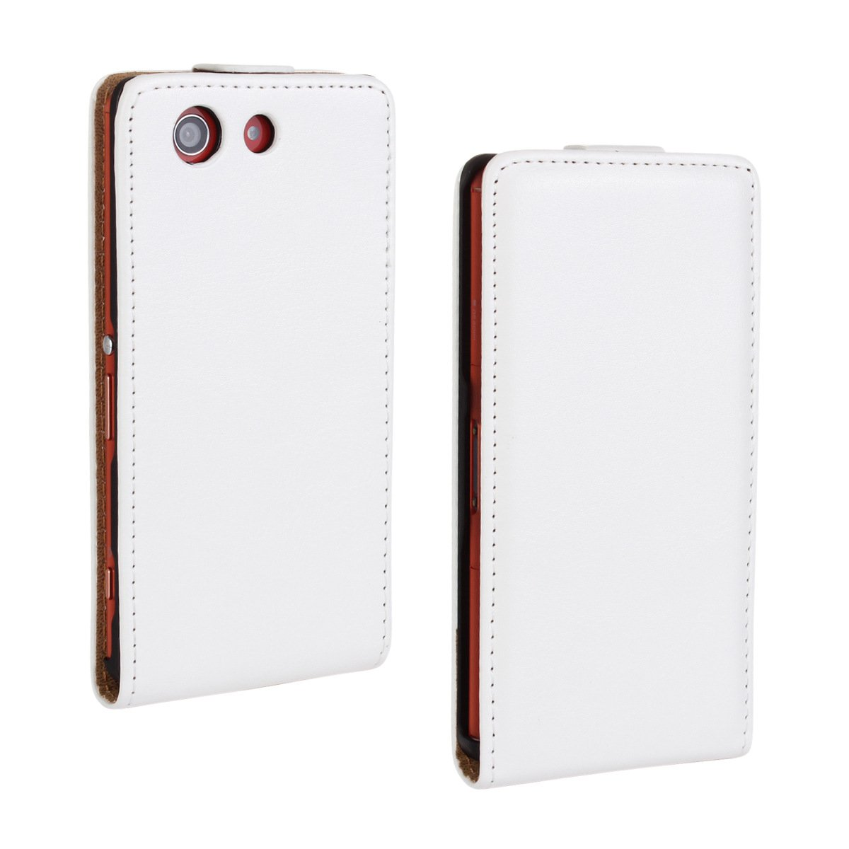 Amazon.com: for Sony Xperia St23i Flip Case Cover PU Leather ...