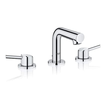 Incredible Grohe 20572001 Concetto 8 In Widespread 2 Handle Mid Arc Bathroom Faucet In Starlight Chrome Home Interior And Landscaping Mentranervesignezvosmurscom