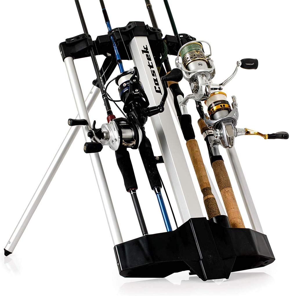Castek Rod Caddy Fishing Rod Rack and Carrier